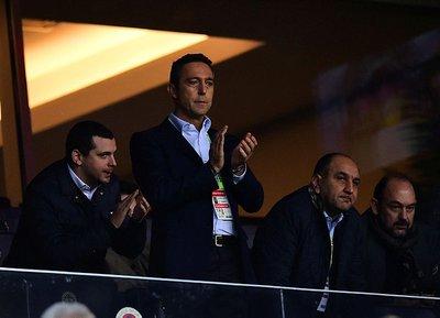 Fenerbahçe Başkanı Ali Koç Arsene Wenger için İngilterede!