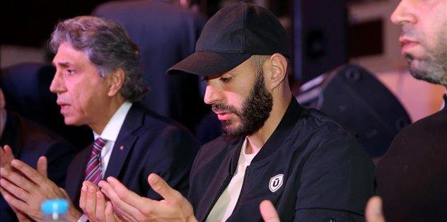 R. Madrid star Benzema joins street iftar in Turkey