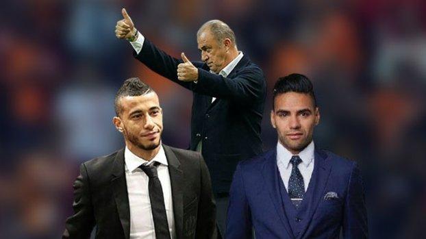 Galatasaray'da flaş Belhanda ve Falcao detayı! Lazio 11'inde...