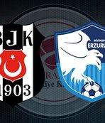 Beşiktaş Erzurumspor maçı ne zaman, saat kaçta, hangi kanalda? Muhtemel 11'ler