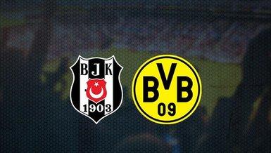 Beşiktaş - Borussia Dortmund maçı CANLI | Beşiktaş-Dortmund maçı ne zaman? Beşiktaş - Borussia Dortmund maçı saat kaçta ve hangi kanalda? | UEFA Şampiyonlar Ligi