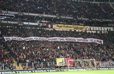Galatasaraydan Kudüs mesajları