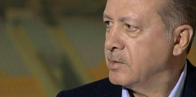 Cumhurbaşkanı Erdoğan'dan 'yabancı sınırı' yanıtı
