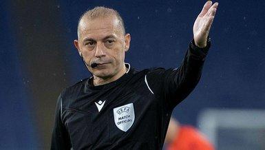Son dakika spor haberi: Cüneyt Çakır'ın UEFA EURO 2020'de görev alacağı açıklandı
