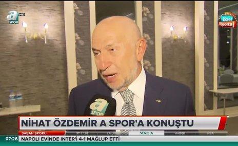 """Nihat Özdemir: """"Her ligde hakem sıkıntısı yaşıyoruz"""""""