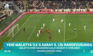 Y. Malatyaspor ile Galatasaray 5. randevuda