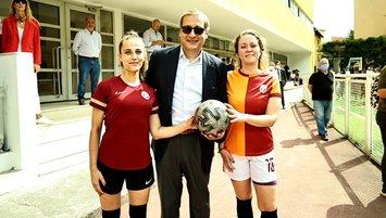 Galatasaray Kadın Futbol Takımı resmen kuruldu