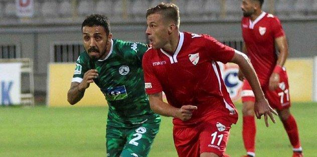 Boluspor ve Giresunspor puanları paylaştı