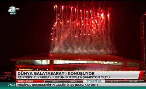 Dünya Galatasaray'ı konuşuyor