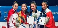 Ümit Milli Takım'dan ilk gün 3 gümüş madalya