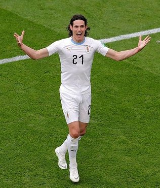 Edinson Cavani Real Madrid'e