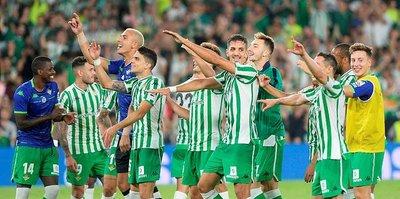 Endülüs derbisinin galibi Real Betis